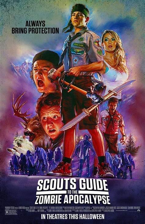 zombie apocalypse guide scouts movies movie dvd objects tribute