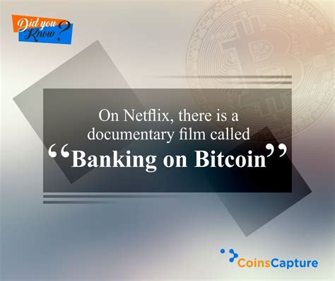 """In this video, blockchain institute of technology george levy answers the question why is cryptocurrency called cryptocurrency? special offer for blockchain informer visitors, open a new bitcoin wallet for free and get $10 bonus in bitcoin at On Netflix, there is doumentry film called """"Banking on Bitcoin"""" #Coinscapture #Bitcoin #Banking ..."""