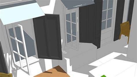 smartdwelling  windows shutters  original green