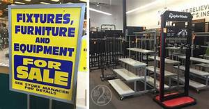 Sports Authority Store Closing Liquidation Sale On