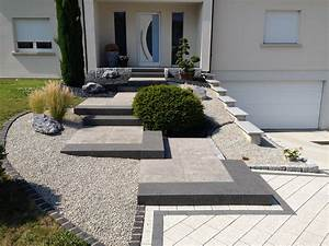 stunning amenagement exterieur maison contemporaine photos With awesome idee terrasse exterieure contemporaine 8 amenagement jardin contemporain jardin autres