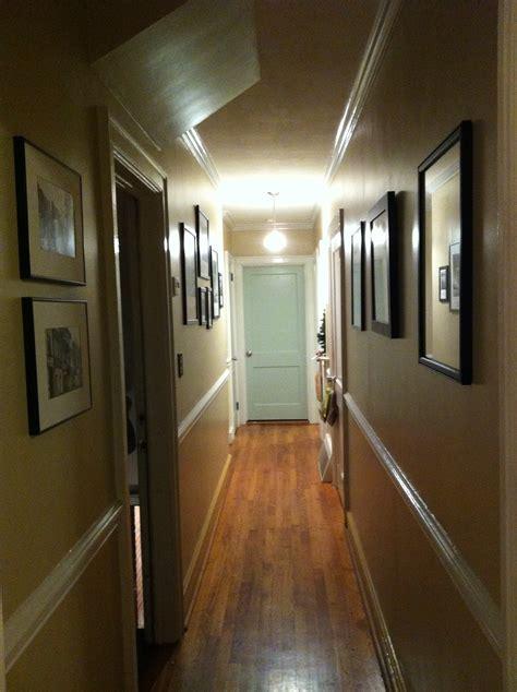 hallway numbers nails
