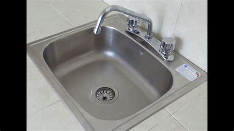 fijacion instalacion de tarja lavaloza parte  youtube