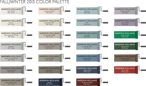 Sherwin Williams Paint Colors For Pottery Barn Fall/winter