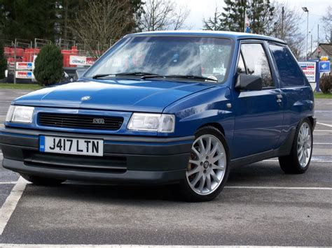 Vauxhall Nova Technical Specifications And Fuel Economy