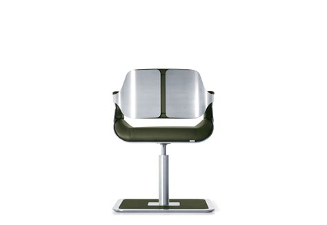 silver lounge chair by interstuhl stylepark