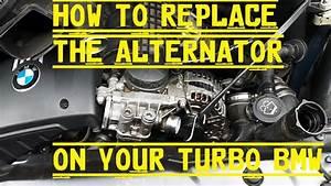 E60   E90   E92 Alternator Replacement 535i 335i Or Any Pre