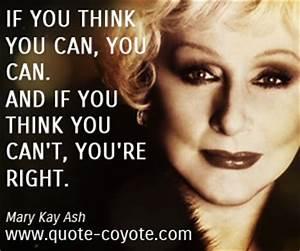 Mary Kay Ash qu... Mary Ward Nun Quotes