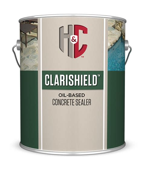 clarishield oil based concrete sealer hc concrete
