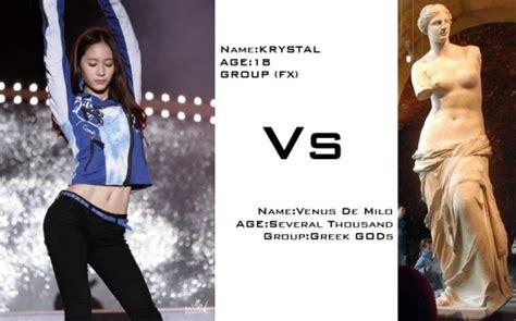 F(x) Krystal's Abs Are Rock Solid Just Like Venus De Milo