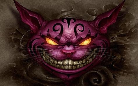 Evil Cheshire Cat Wallpaper 70 Images