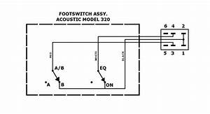 Acoustic Footswitches W  Jones Plugs