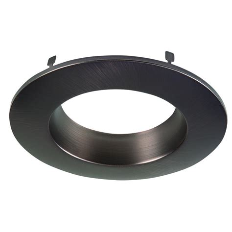 halo light trim rings halo 6 in white recessed lighting baffle and trim ring