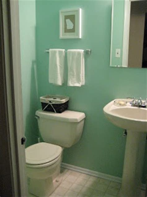 sea glass paint  martha stewart bathroom design
