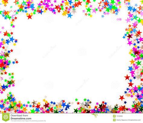 cornici colorate da stare gratis confetti picture frame stock photo image of