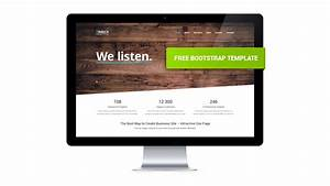Timber – Free One Page Bootstrap Template GT3 Themes
