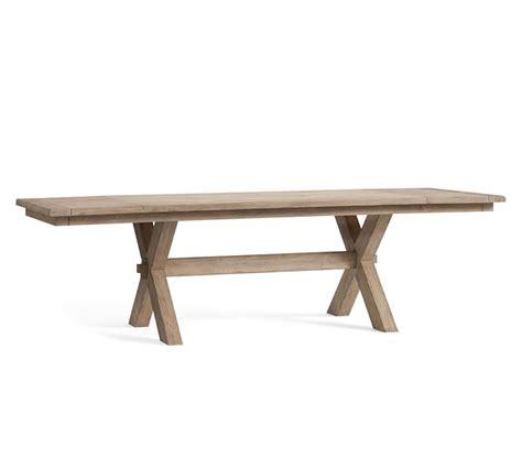 Toscana pedestal extending dining table, seadrift. Toscana Extending Dining Table - Seadrift | Pottery Barn