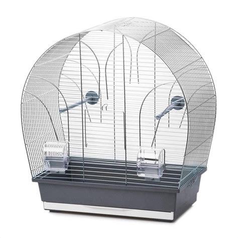 Gabbia Uccello - gabbia per uccelli tina cromo grigio casa degli uccelli