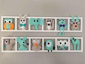 Cadre Deco Bebe : cadre deco chambre bebe affordable tableau enfant ~ Teatrodelosmanantiales.com Idées de Décoration