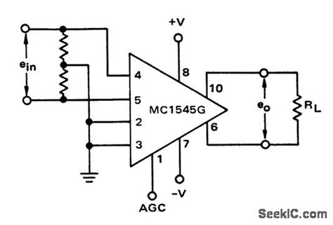 Wide Band Differential Amplifier With Ago Using Mcg