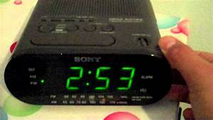 My Mother U0026 39 S Sony Dream Machine Am  Fm Alarm Clock Radio Icf