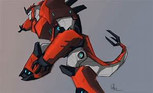 Transformers: Robots In Disguise Grimlock Concept Art ...