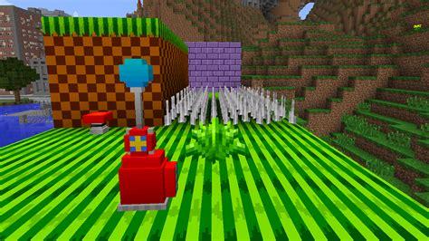 sonic  hedgehog mod  minecraft mods