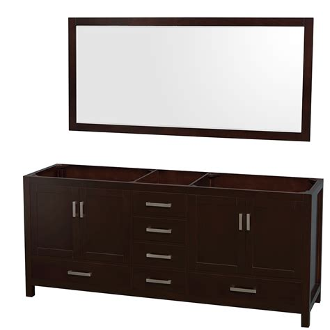 70 inch bathroom vanity without top wyndham collection wcs141480descxsxxm70 sheffield 80 inch