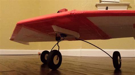 versa wing landing gear flitetest forum