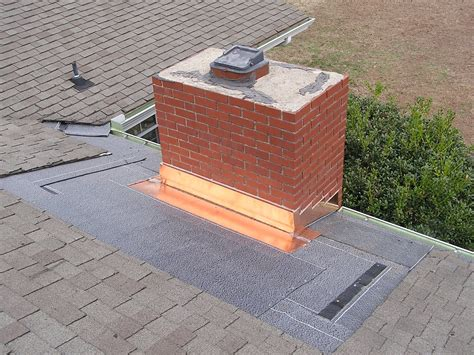 Metal Roof Chimney Cricket Flashing