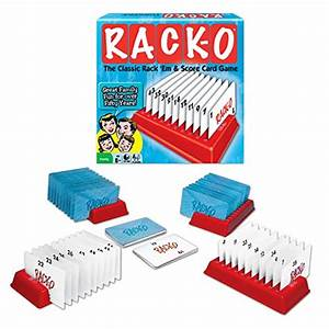 Winning Moves RACK-O, Retro package Card Game ...