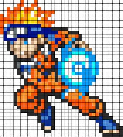 Naruto Patterns Perler Pixel Bead Beads Anime