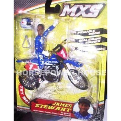 motocross action figures amazon com james bubba stewart 5 inch supercross