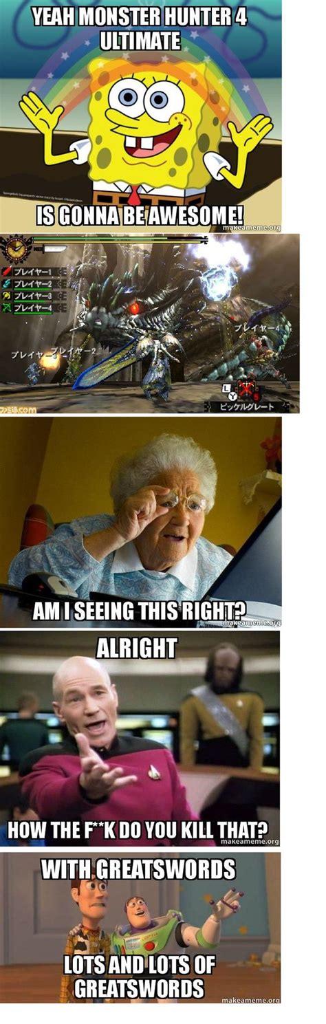 Monster Hunter Memes - 22 best monster hunter memes images on pinterest videogames monsters and video games