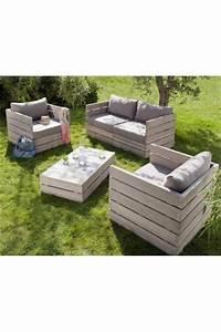 Salon De Jardin En Palette Moderne : planches de palettes naturelles ~ Melissatoandfro.com Idées de Décoration