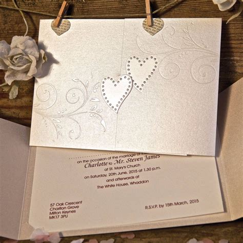 wedding invitations with hearts sparkling hearts wedding invitation gallery
