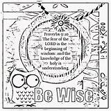 Coloring Wisdom Sheets Bible Verse Children Childrens Treasure Proverbs Activity Colouring Mining Printable Lord Gems Christian Verses Fear Scripture Adult sketch template