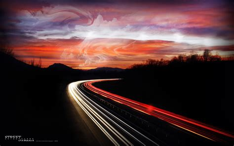 speed highway  wallpaper  baltana