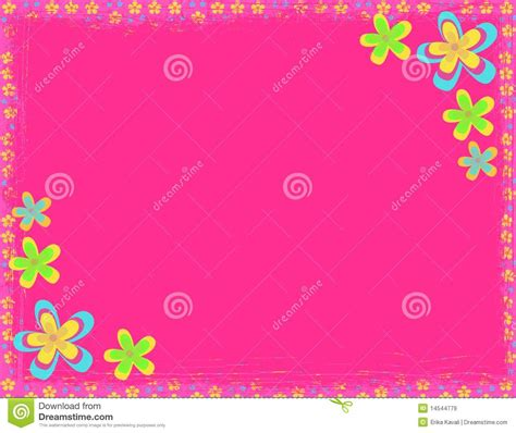 pink flower hippie background royalty  stock images