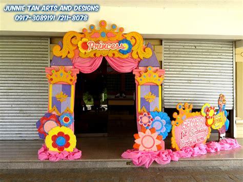Disney Photo Backdrop by Disney Princess Theme Styro Backdrop For Rent And Balloon