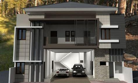 model rumah minimalis modern  bagus informasi