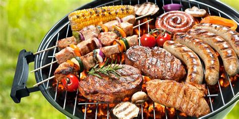 cuisine au grill mixed grill au barbecue recettes femme actuelle