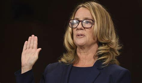 christine blasey ford  sworn   testify