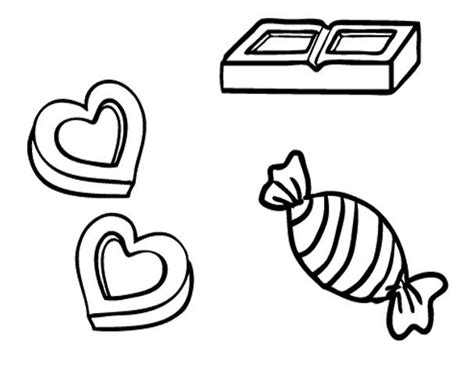 coloring pictures chocolate candy coloring pages candyland
