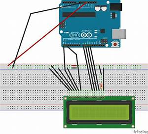 Circuit Diagram For Lcd Interfacing With Arduino