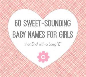 Sweet Baby Girl Names