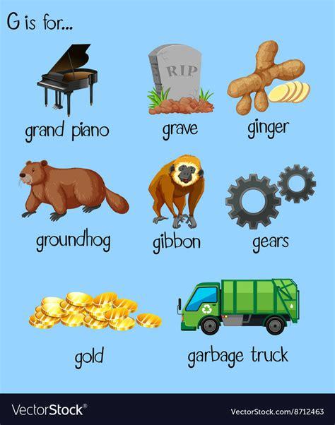words  alphabet  royalty  vector image