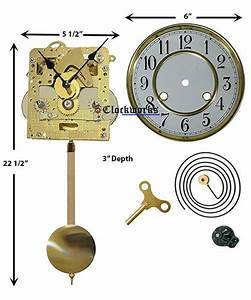 Wall Or Mantle Clock Kit Wmkit2