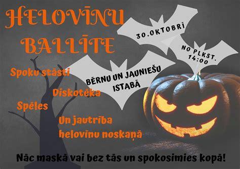 Helovīnu ballīte Barkavas KN - barkava.lv