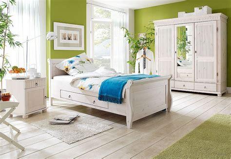 Bett Mit Schubladen 100x200 Weiß Holzbett Kiefer Massiv Poarta